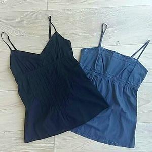 garage sleeveless babydoll tops - 2pc